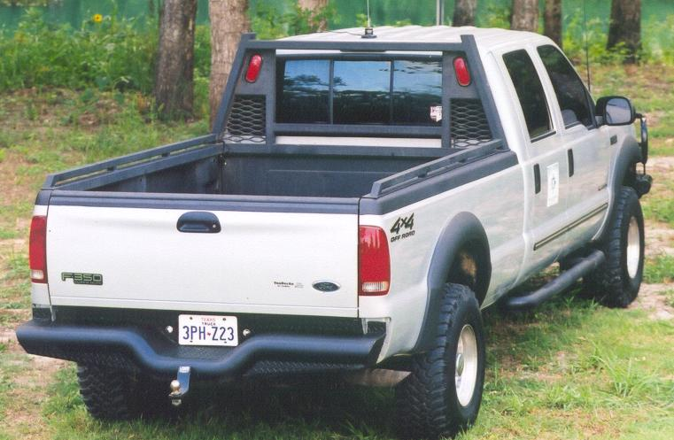 2011 Ford Dually >> Heavy Duty Headache Rack - Tough Country Bumpers