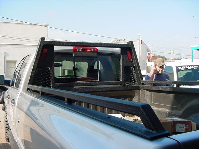 Heavy Duty Headache Rack Tough Country Bumpers