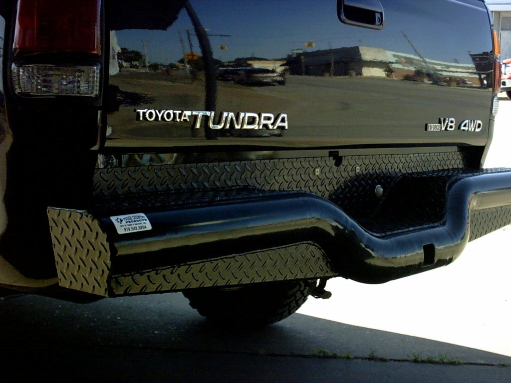 Deluxe Rear Bumper Tough Country Bumpers