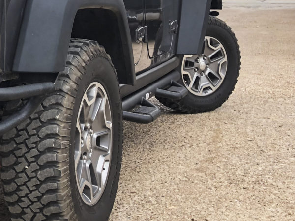 Jeep Wrangler JK Deluxe Side Step Bars